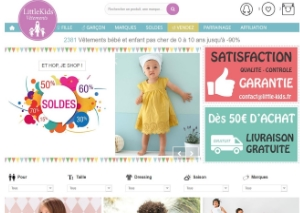 Gestion du site little-kids
